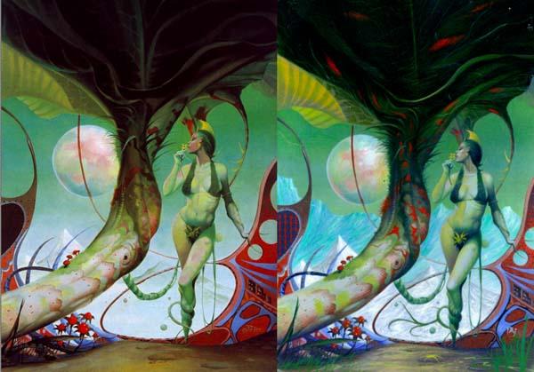 Garden of Dreams by Peter Andrew Jones