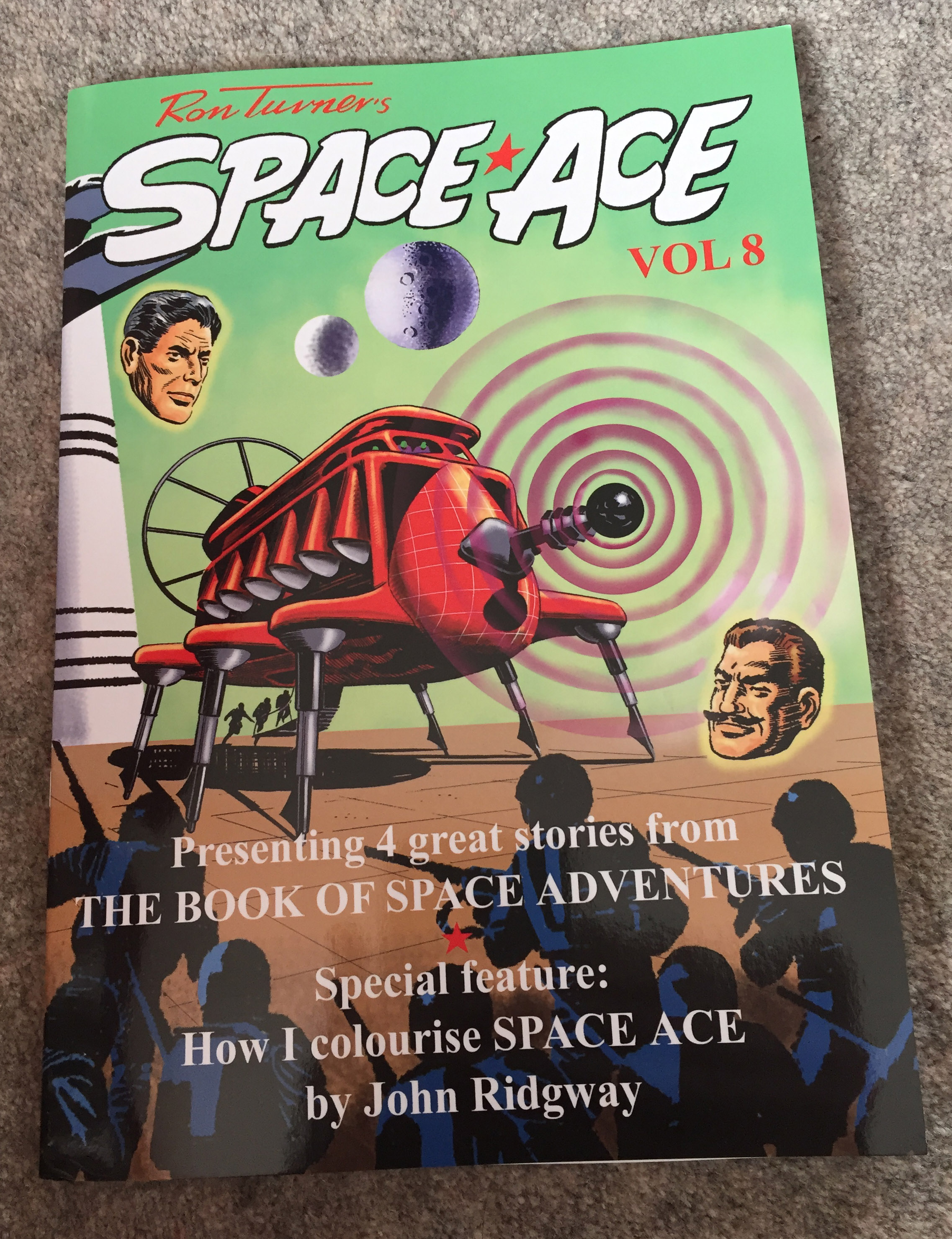 Space Ace Volume Eight - Cover