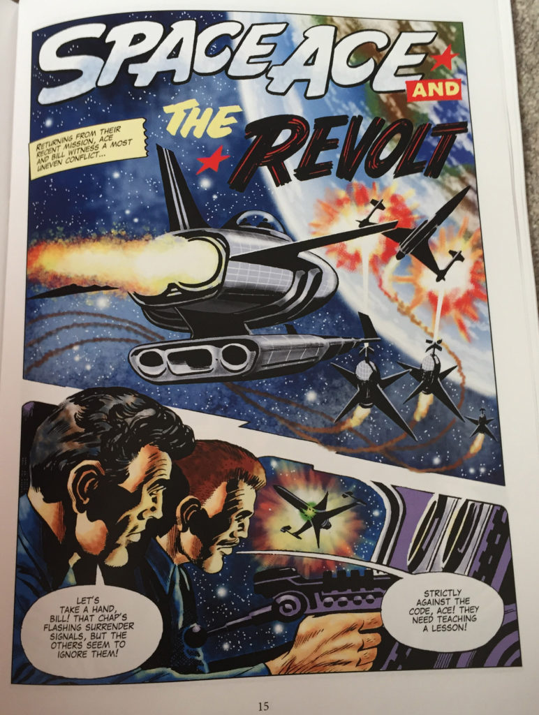 Space Ace Volume Eight - The Revolt