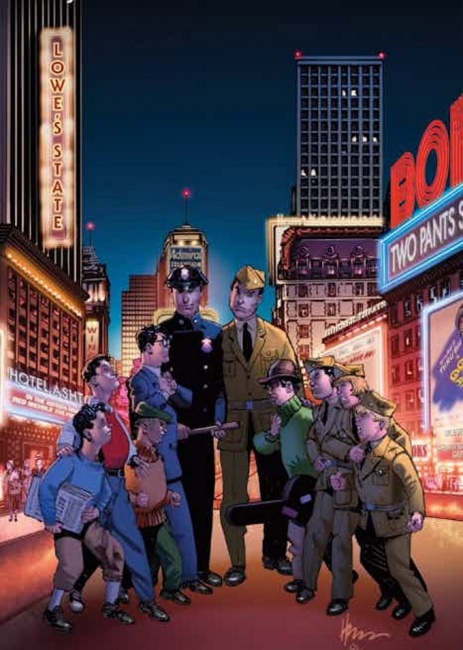 The Newsboy Legion and Boy Commandos Special #1
