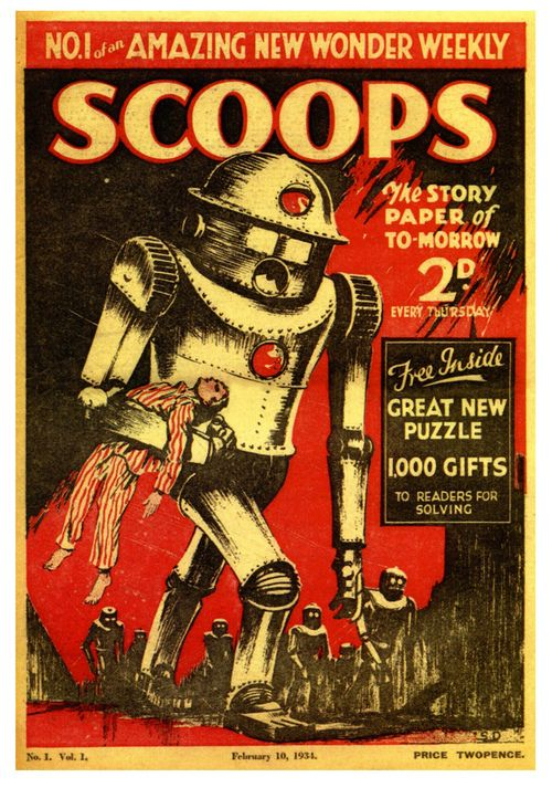 Scoops Issue One, published in 1934
