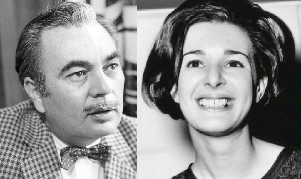 Sydney Newman and Verity Lambert
