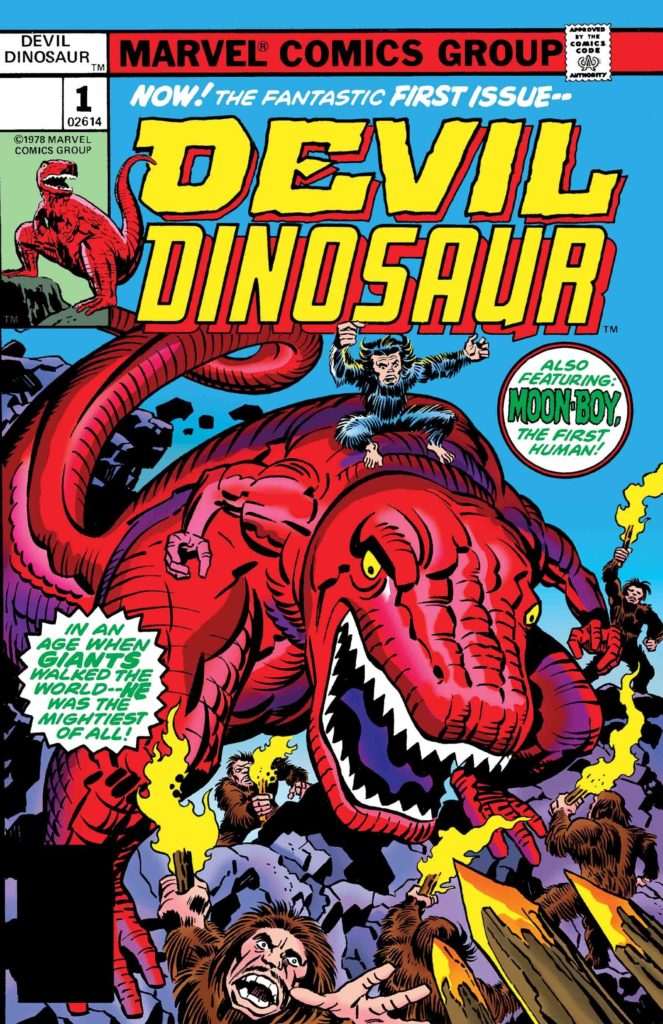 True Believers: Kirby 100th – Avengers: Devil Dinosaur #1