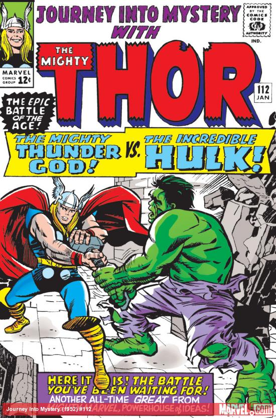 True Believers: Kirby 100th – Thor Vs. Hulk #1