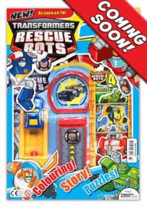Transformers: Rescue Bots #1 Cover - Coming Soon