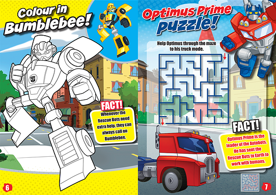 Transformers: Rescue Bots Sample 2