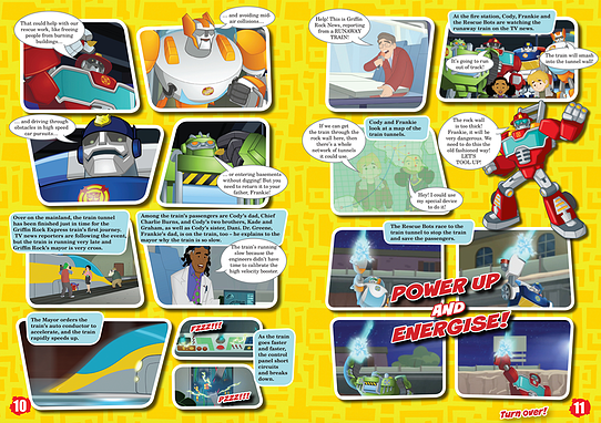 Transformers: Rescue Bots Sample 1
