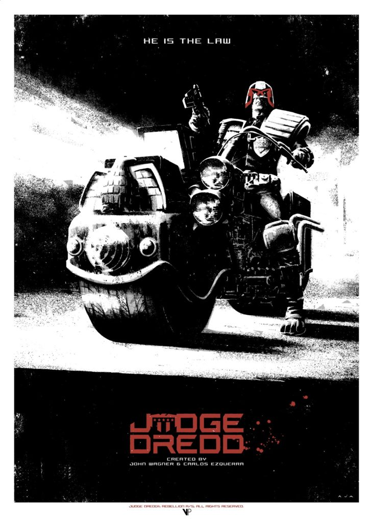 Judge Dredd by David Aja