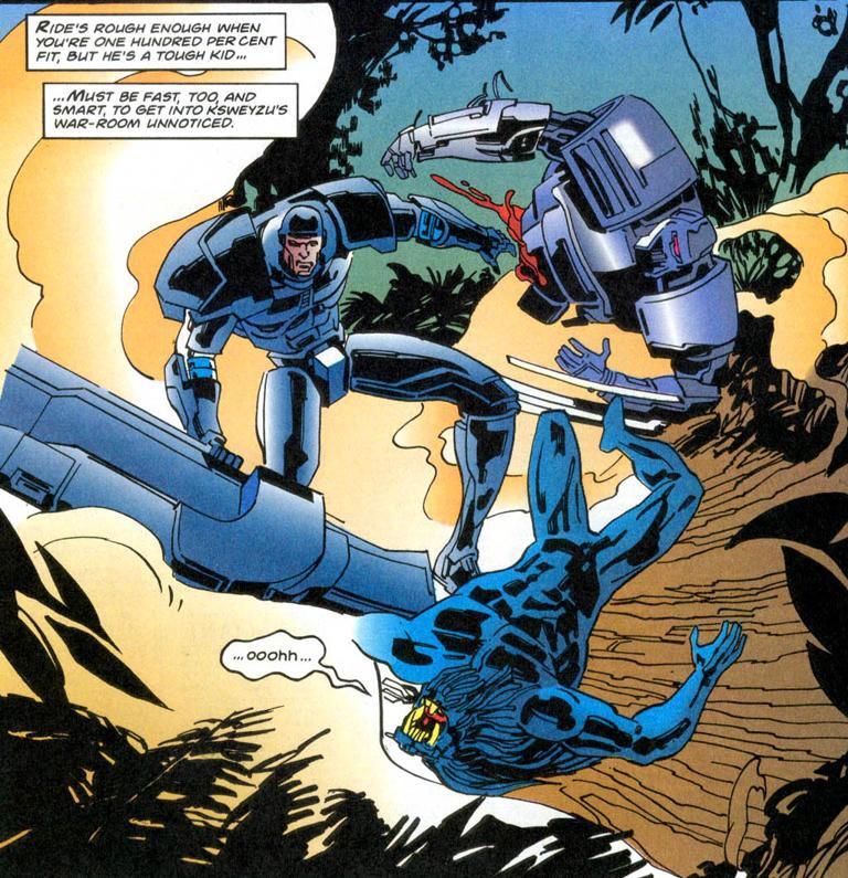 Black Axe, Edmund's stuning early work for Marvel UK