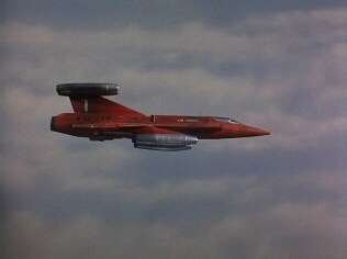 "The ""Red Arrow"" from Thunderbirds - ""Edge of Impact"""
