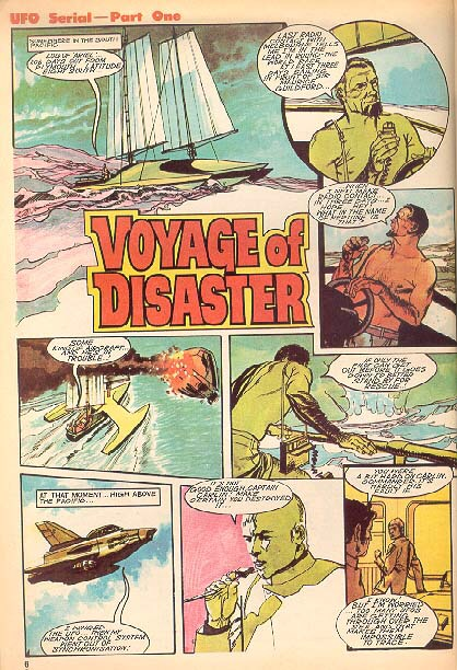 "TV Action - UFO - ""Voyage of Disaster"""