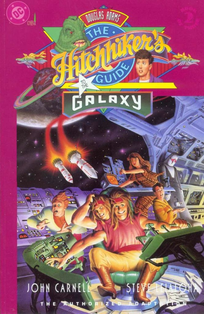 The Hitchhiker's Guide to the Galaxy #2 - Cover