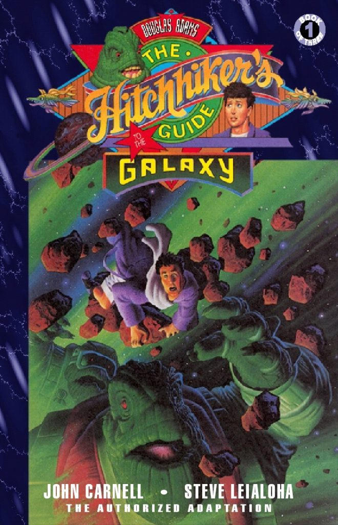 The Hitchhiker's Guide to the Galaxy 1 - Cover