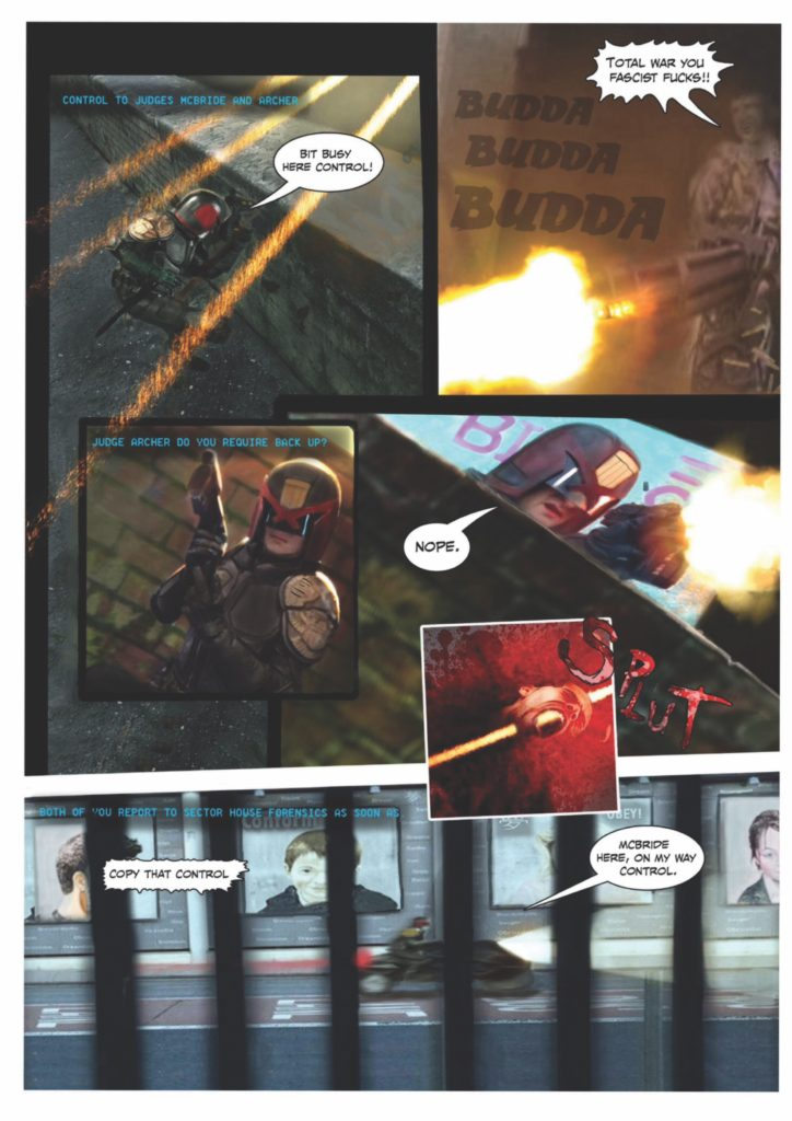 Sector 13 Issue 1 - Strip