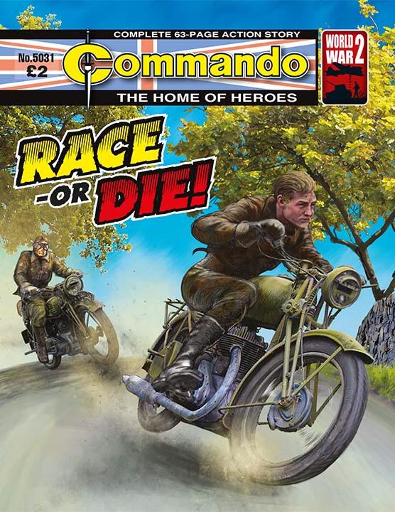 Commando 5031: Home of Heroes: Race – Or Die!