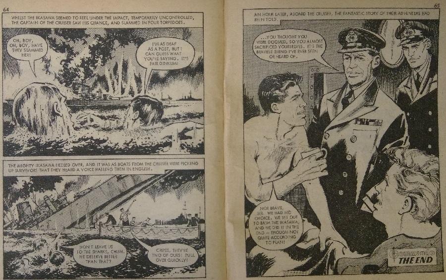 """Art from Commando 202 - """"Bombers Moon"""""""