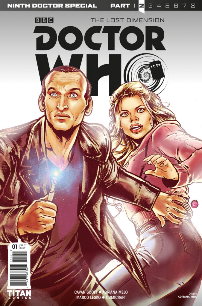 Doctor Who: The Ninth Doctor Special - Lost Dimension - Part 2 Cover A: Adriana Melo