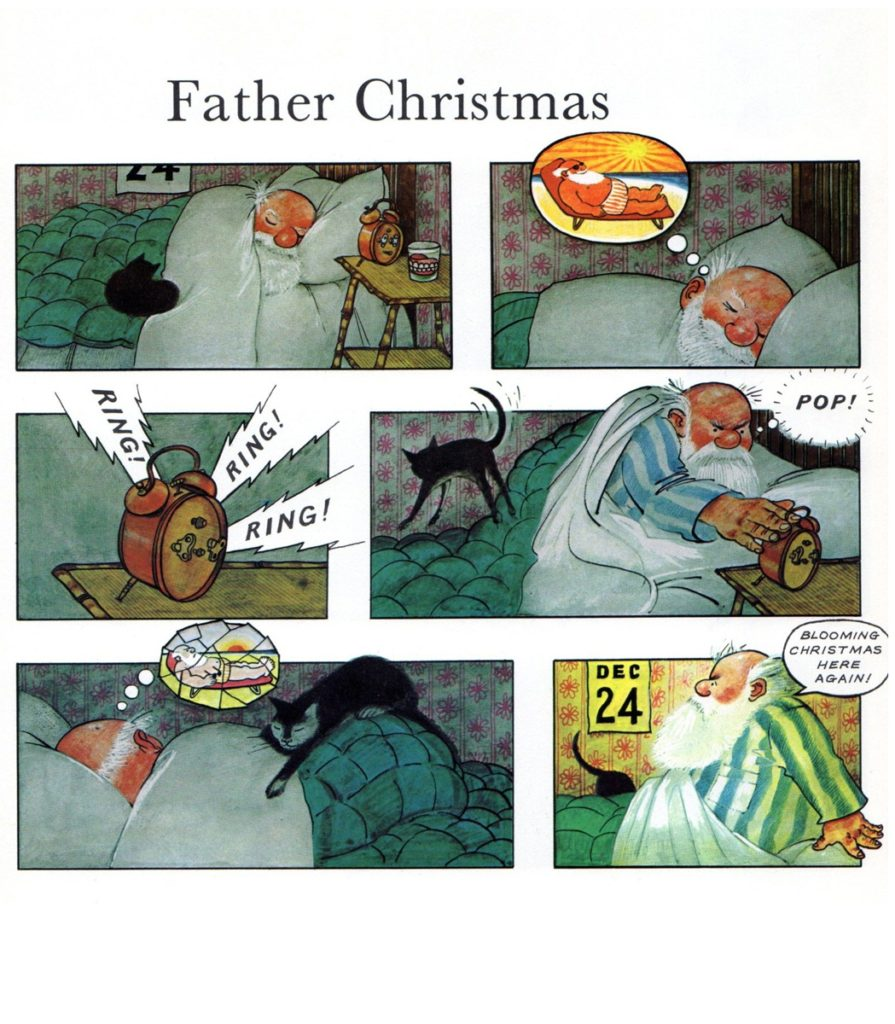 Farther Christmas by Raymond Briggs - Page 1