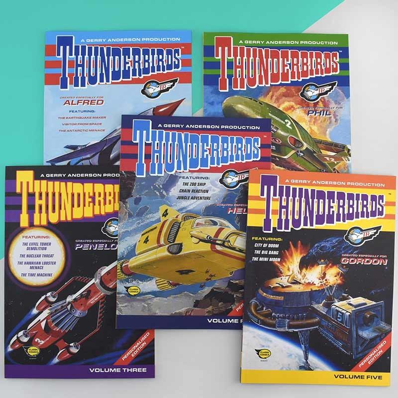 Personalised Thunderbirds Are Go Books