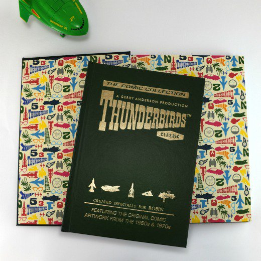 Personalised Thunderbirds Collector's Edition Book