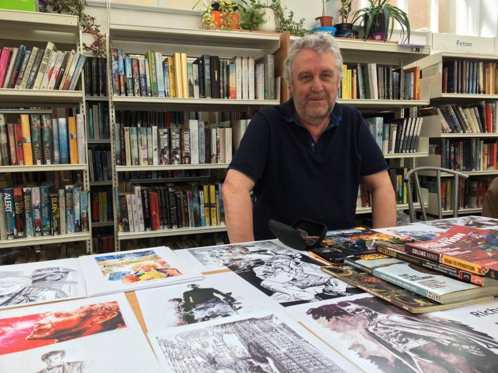 Richard Piers Rayner. Photo: David Chandler