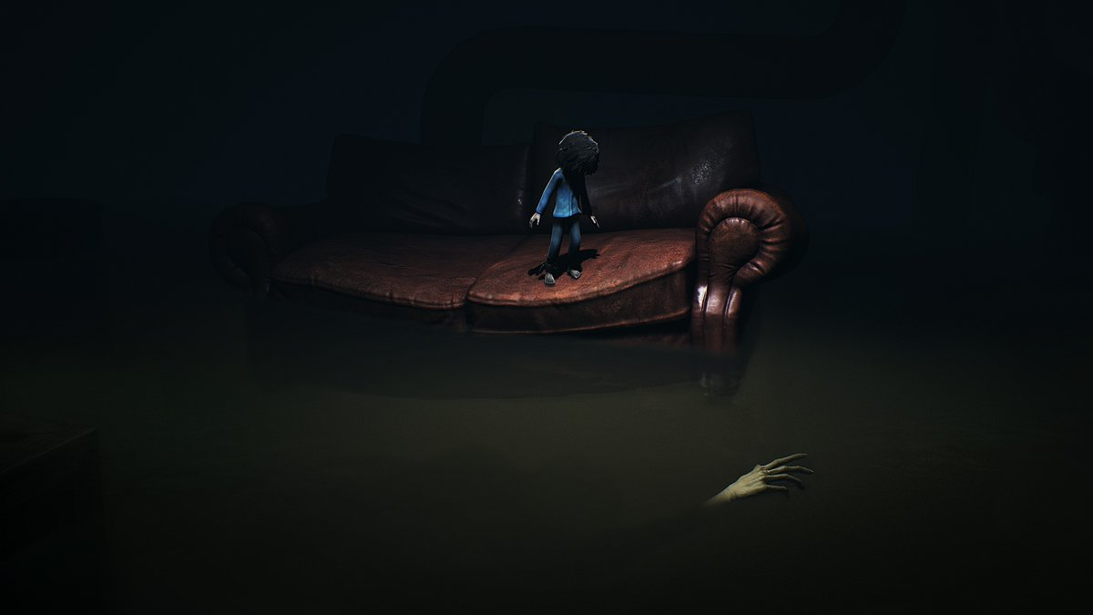 """A new creature you will love to stay away from in """"The Depths"""" -  Chapter 1 of Little Nightmares - Secrets of the Maw. Image: Bandai-Namco"""
