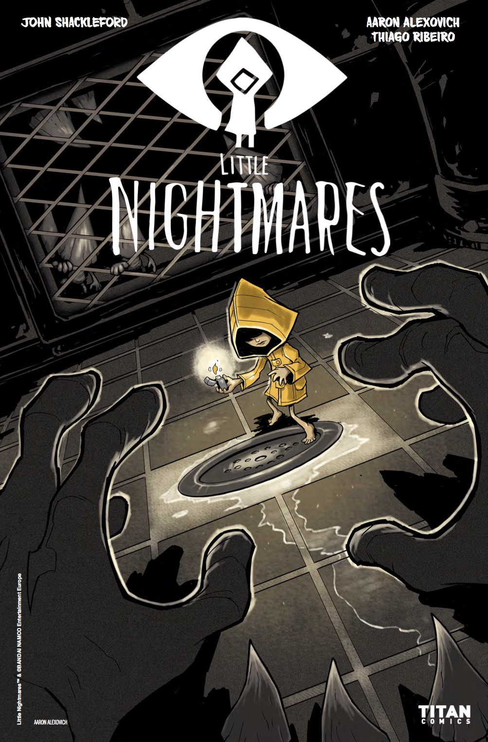 Little Nightmares #1 Cover A by Aaron Alexovich