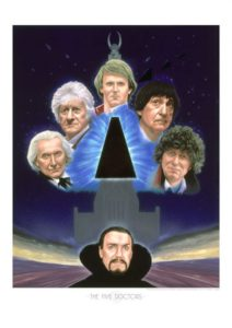 The Five Doctors by Andrew Skilleter - available as a limited edition print
