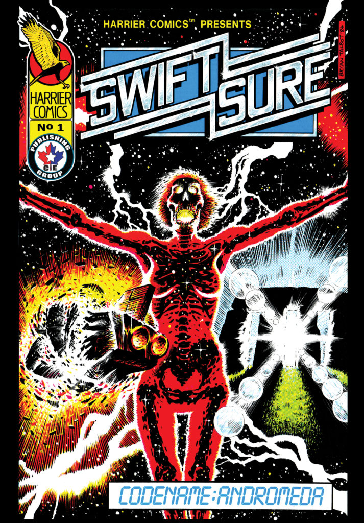 Harrier Comics Swiftsure #1 - CEPG Revival Issue