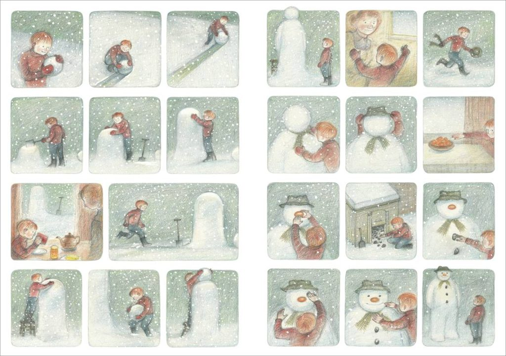 Art from The Snowman by Raymond Briggs