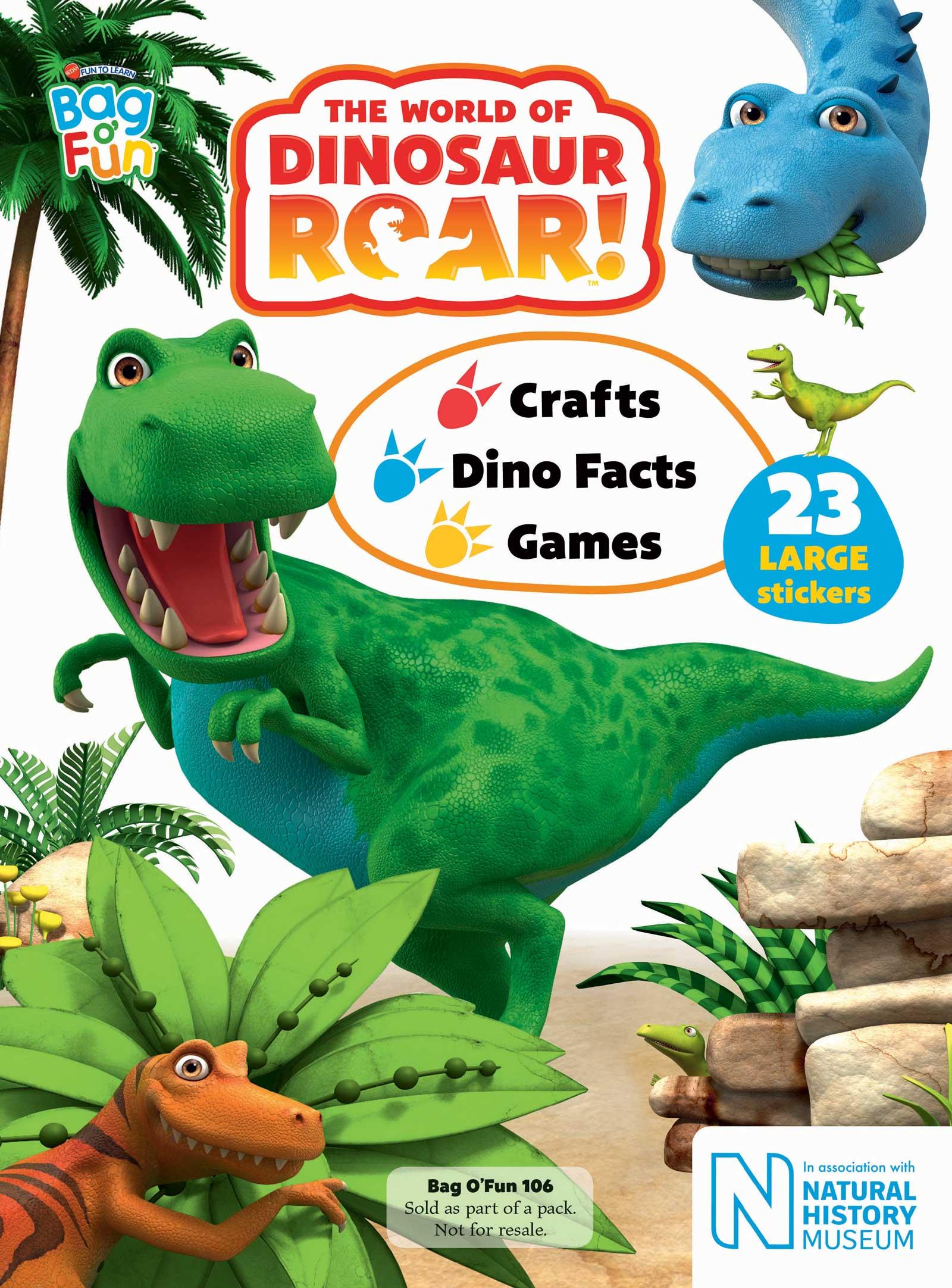 World of Dinosaur Roar! - Redan - Cover