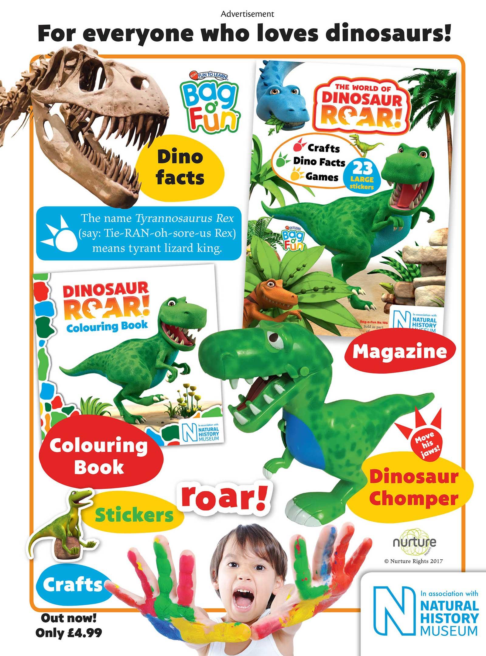 World of Dinosaur Roar! - Redan - Ad