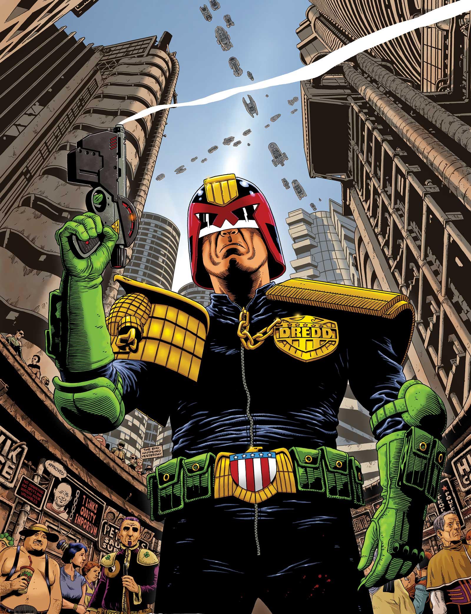 Judge Dredd by Mark Sexton