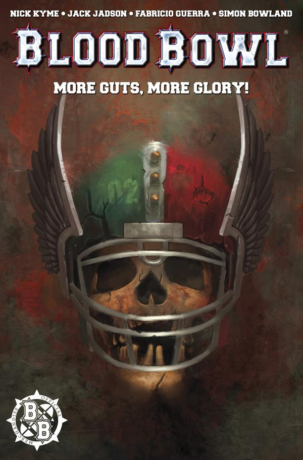 Blood Bowl Cover - Titan Comics