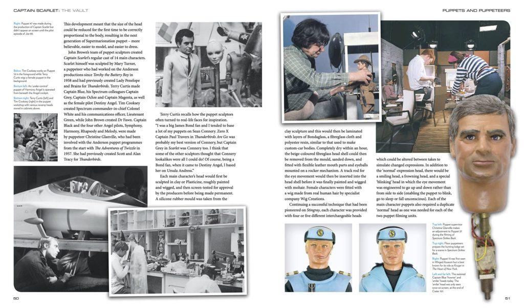 Captain Scarlet and the Mysterons: The Vault Sample Pages