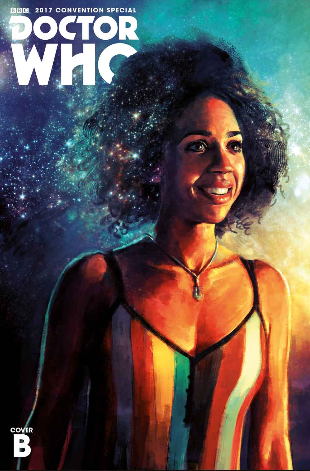 Doctor Who San Diego Comic-Con Titan Comics Special Cover B by Alice X. Zhang