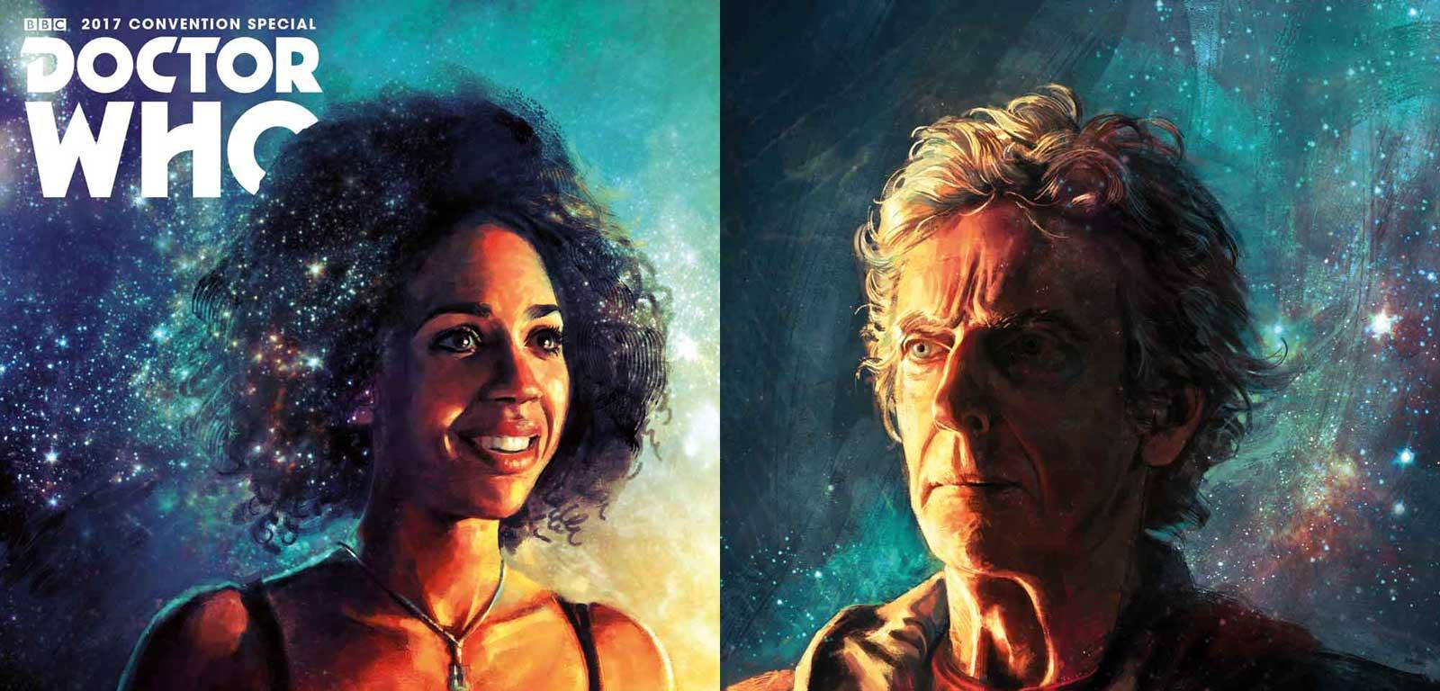 Doctor Who San Diego Comic-Con Titan Comics Special SNIP