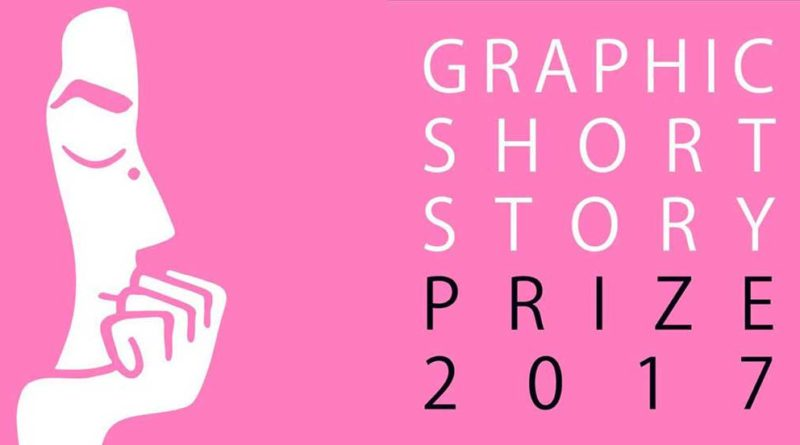 Observer/ Cape/ Comica Graphic Short Story 2017 Prize Poster SNIP