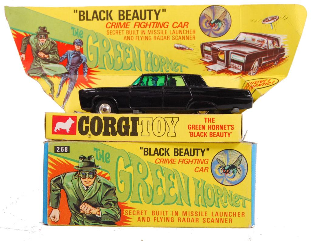 Corgi Green Hornet Black Beauty