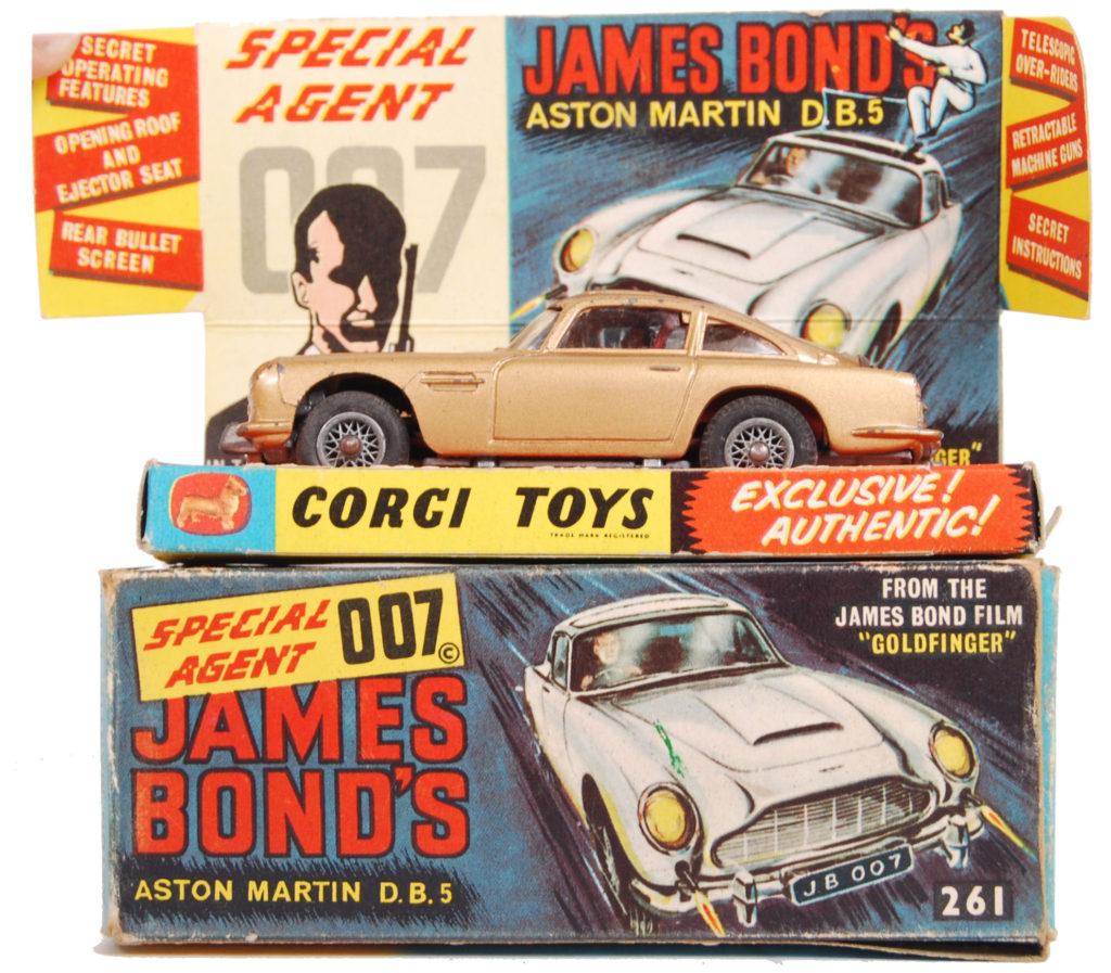 James Bond Goldfinger Aston Martin DB5