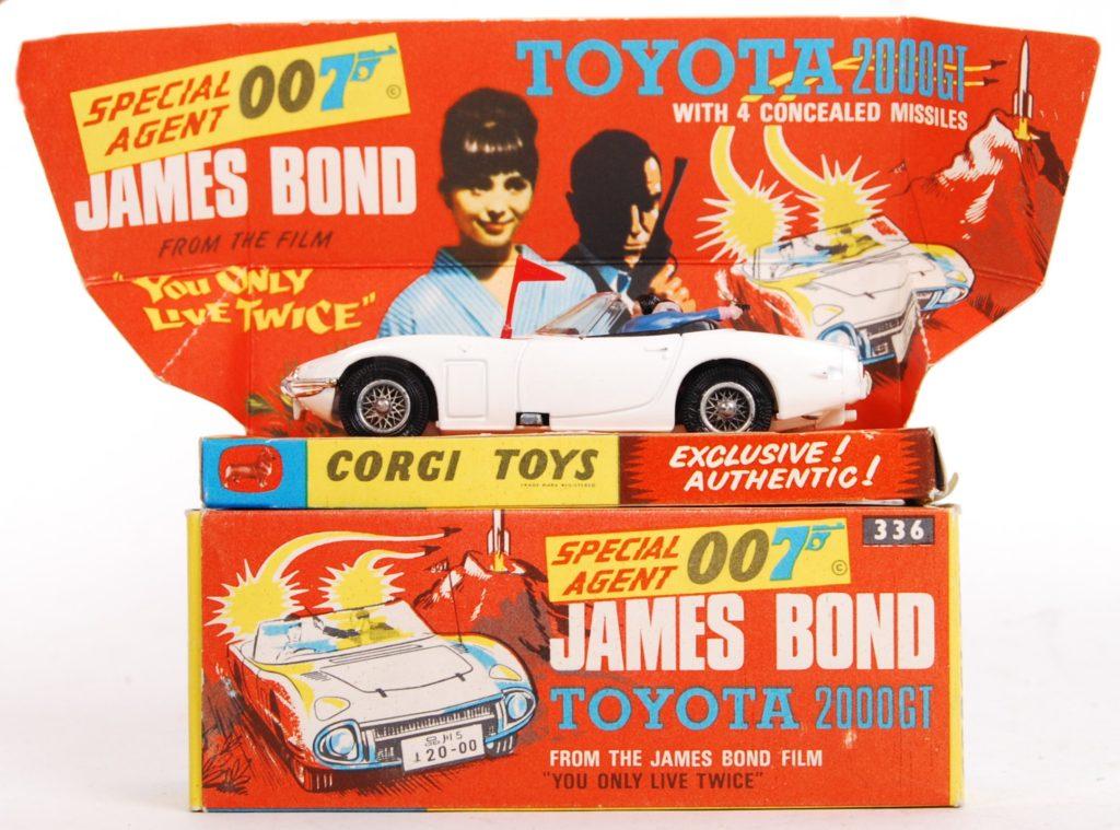 James Bond Toyota
