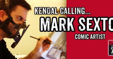 Kendal Calling... Mark Sexton Banner