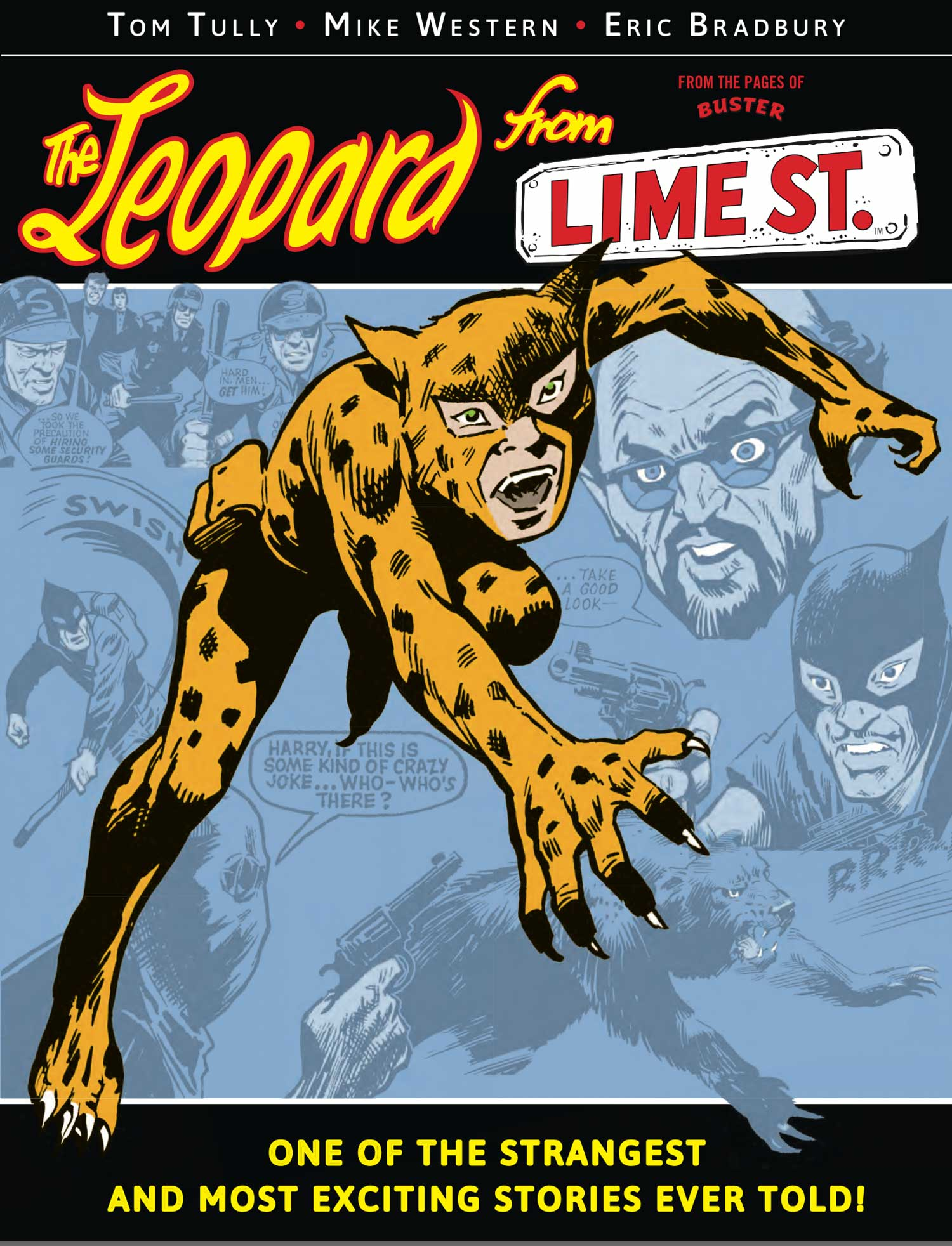 The Leopard from Lime Street Book One - Cover