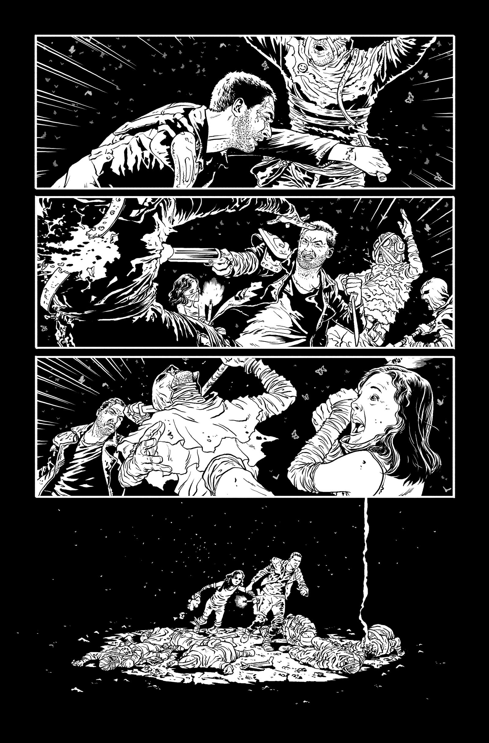 Art for Mad Max#2 by Mark Sexton
