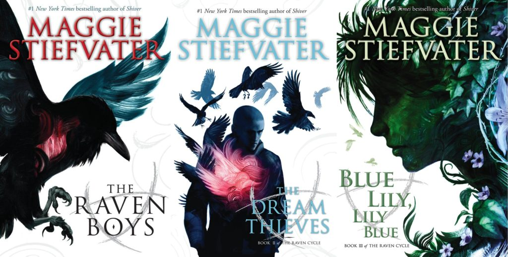 The Raven Cycle novels by Maggie Stiefvater