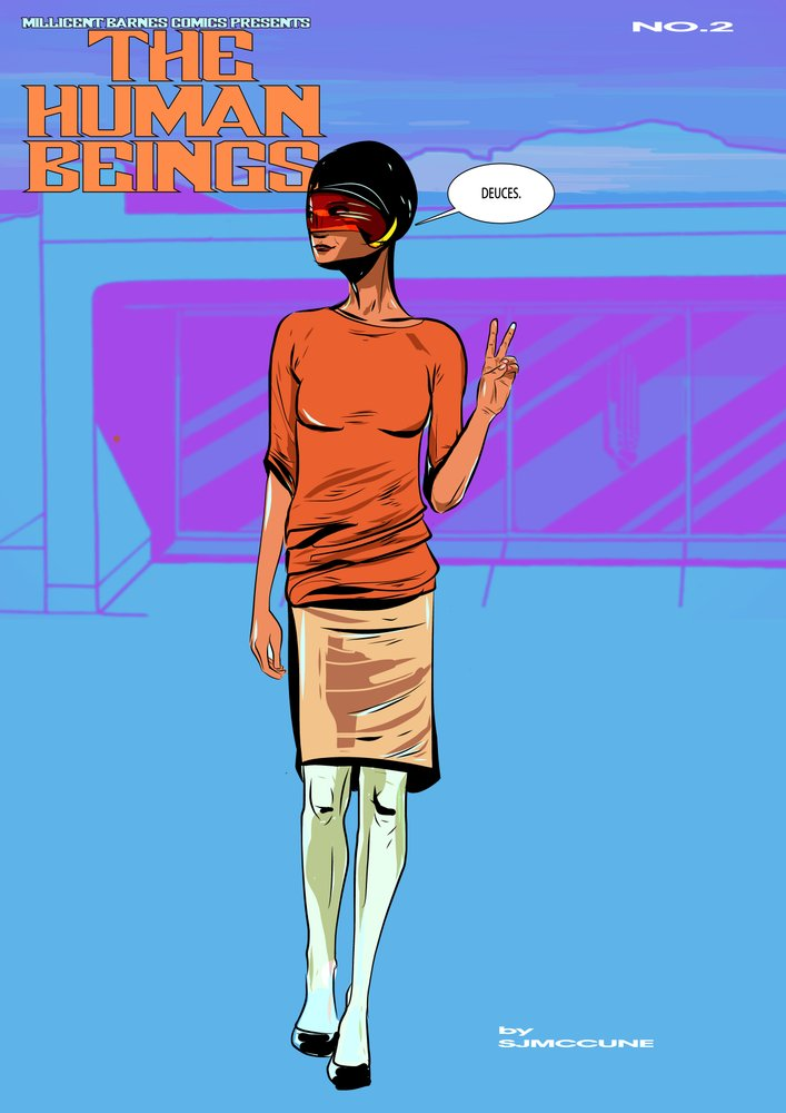 The Human Beings #2 - Cover