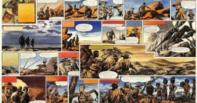 """King Solomon's Mines"" Episode Three by Frank Bellamy"