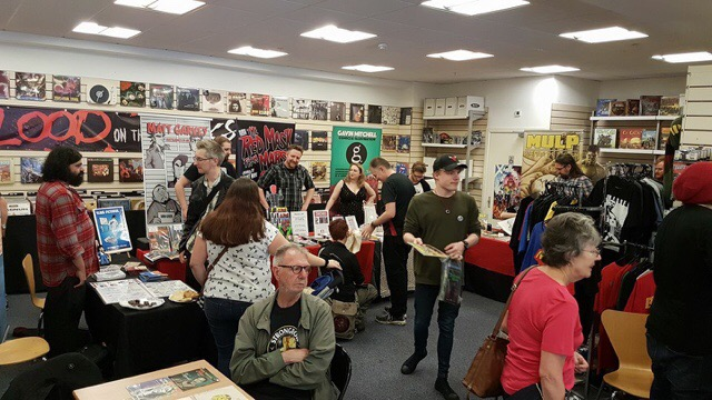 Incredible Comic Shop Smnall Press signing 15th July 2107