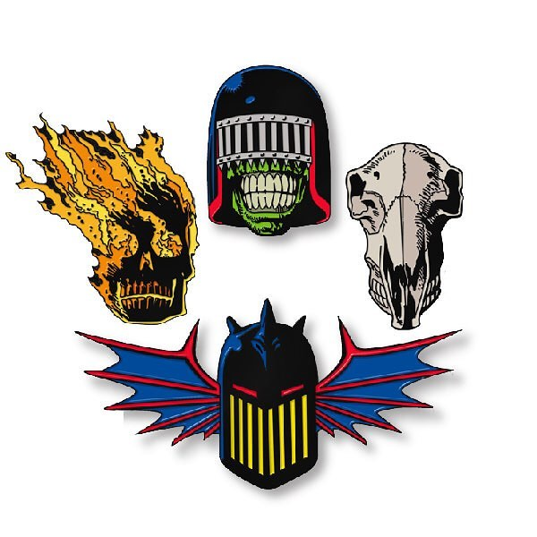 Yesterdays.co Dark Judges Pins (Badges)