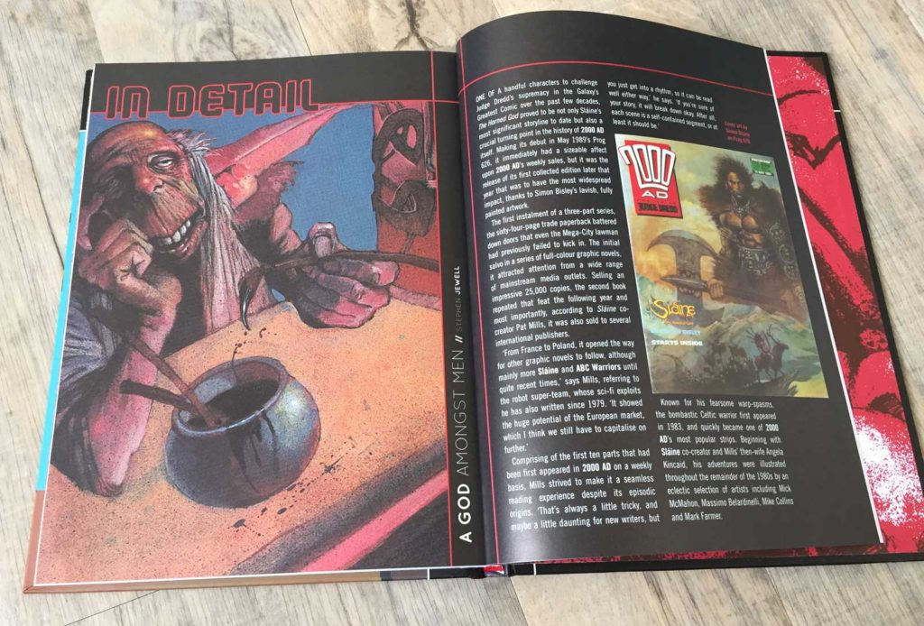 2000AD - The Ultimate Collection - The Horned God - Sample